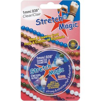 Stretch Magic 1.0 mm. Transparent Elastic