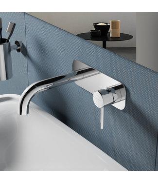 Hotbath Buddy B006J - Inbouw wastafelmengkraan met gebogen uitloop CR