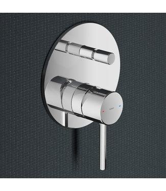 Hotbath Buddy B032 - Inbouw douche/badmengkraan met automatische omstelinrichting