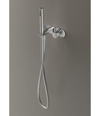 Hotbath Buddy B070 - Inbouw stopkraan met doucheslang en handdouche