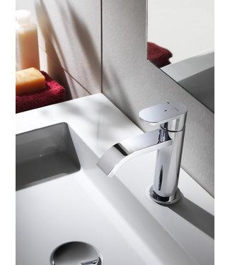 Hotbath Friendo F003C - Wastafelmengkraan met cascade uitloopzonder waste
