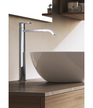 Hotbath Friendo FH003C - Wastafelmengkraan hoog met cascade uitloop zonder waste