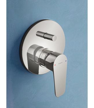 Hotbath Gringo GR032 - Inbouw douche/badmengkraan met automatische omstelinrichting