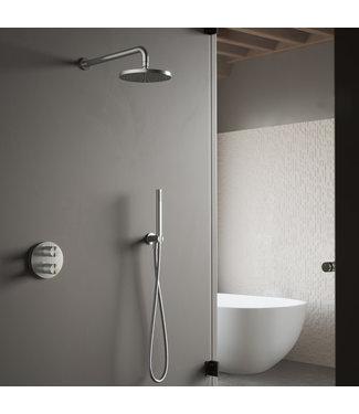 Hotbath Archie IBS30A - Complete thermostatische douche inbouwset Archie met 2-weg-stop-omstel