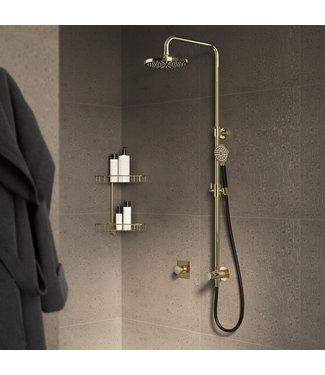 Hotbath Mate M438 - Stortdoucheset, hoofddouche 20 cm en doucheslang 1,5 mtr met handdouche