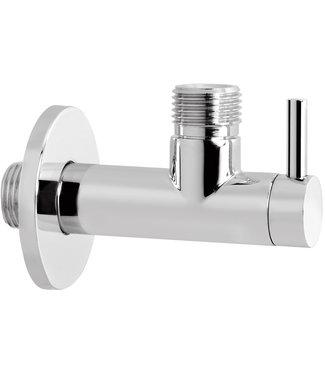 Hotbath Cobber P2002 - Hoekstopkraan rond met filter 1/2 WH
