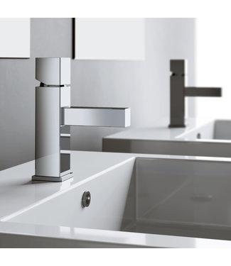 Hotbath Bloke Q003 - Wastafelmengkraan zonder waste, zonder stickhendel