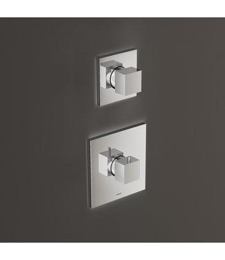 Hotbath Bloke Q012 - Inbouw thermostaat met één stopkraan CR