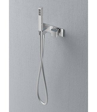 Hotbath Bloke Q070 - Inbouw stopkraan met doucheslang en handdouche