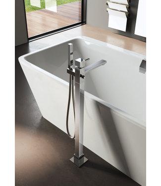Hotbath Bloke Q077 - Badmengkraan met vaste uitloop vloermontage