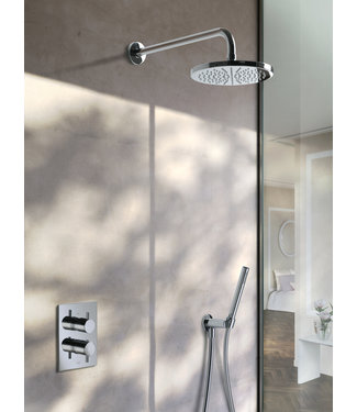 Hotbath Laddy IBS2A - Complete thermostatische douche inbouwset Laddy met 2-weg-stop-omstel