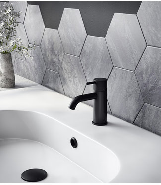 Hotbath Cobber X CX003C - Wastafelmengkraan zonder waste