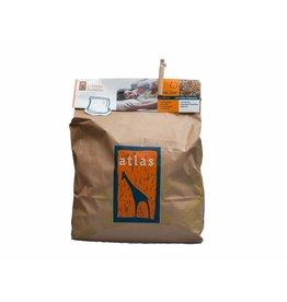 Atlas hoofdkussens Recharge de speltkaf d'atlas