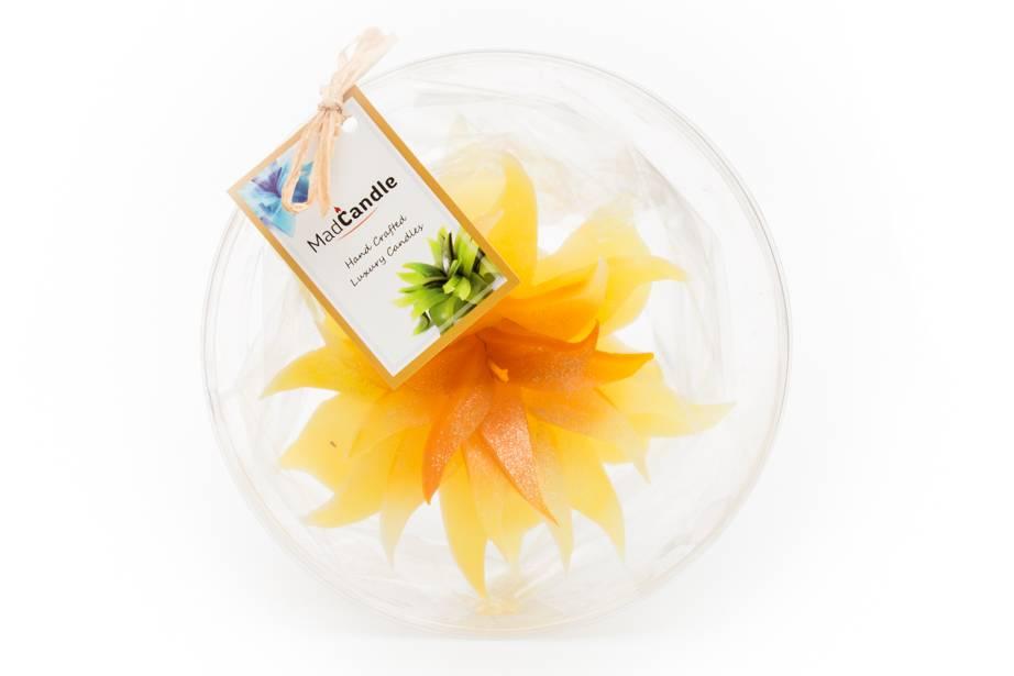 MadCandle Bougie Fleur Gros Citron