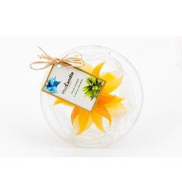 MadCandle Flower candle medium lemon