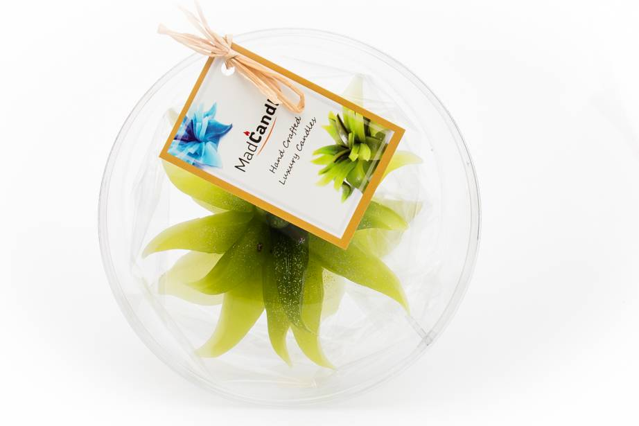 MadCandle Bloemenkaars medium appel