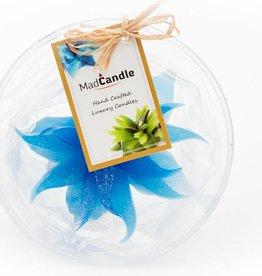 MadCandle Flower candle medium cotton