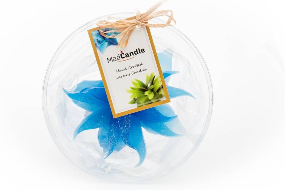 MadCandle Bougie Fleur Moyenne Coton