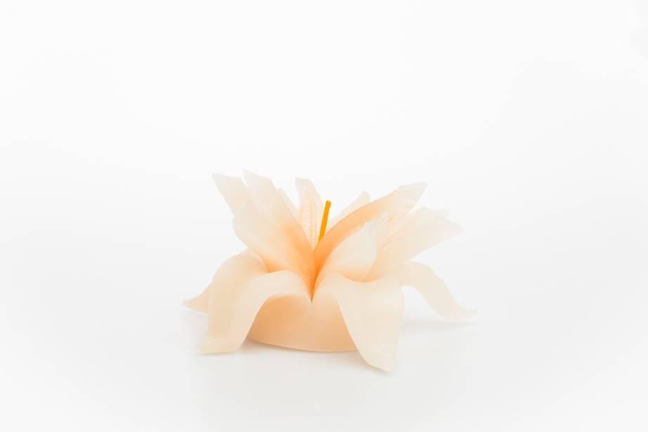 MadCandle Bougie Fleur Moyenne Vanille