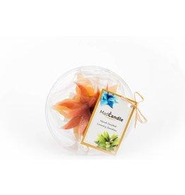 MadCandle Bougie Fleur Petite Cannelle
