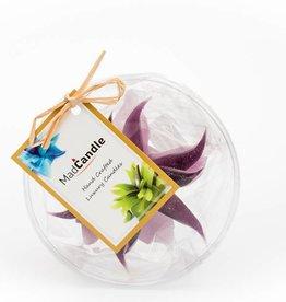 MadCandle Bloemenkaars klein lavendel