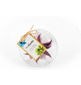 MadCandle Flower candle small lavender