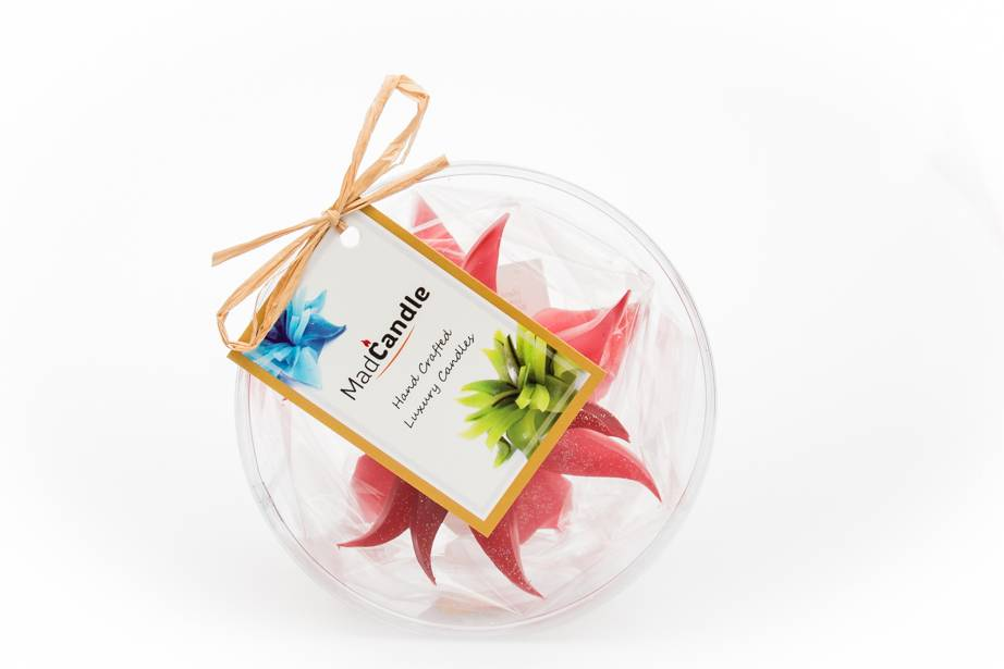 MadCandle Flower candle small strawberry