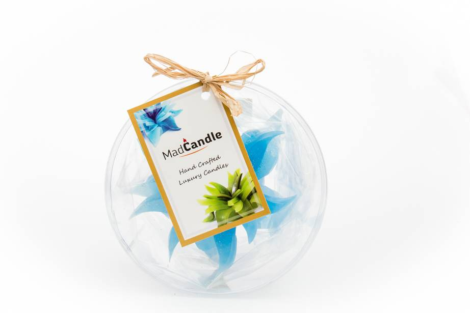 MadCandle Flower candle small cotton