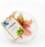 MadCandle Flower candle small green tea