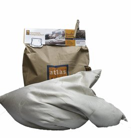 Atlas hoofdkussens Atlas pillow buckwheat (50 x 60 cm.)