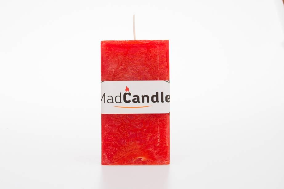 MadCandle Bougie parfumée cube big orange