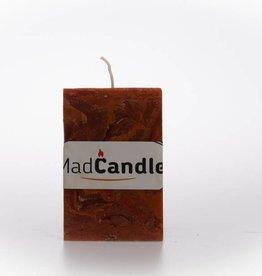 MadCandle Geurkaars kubus medium kaneel
