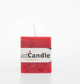 MadCandle Scented candle cube small strawberry