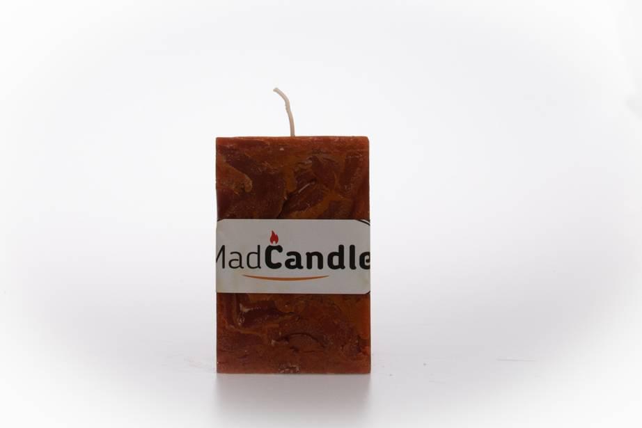 MadCandle Bougie parfumée cube petite cannelle