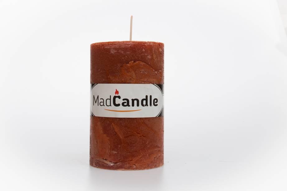MadCandle Bougie parfumée ovale cannelle moyenne
