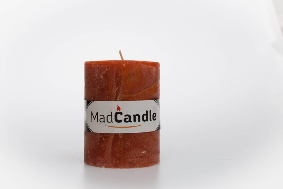 MadCandle Bougie parfumée ovale petite cannelle