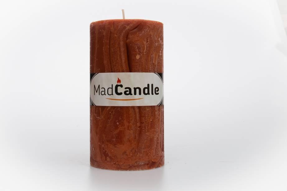 MadCandle Scented candle oval big cinnamon