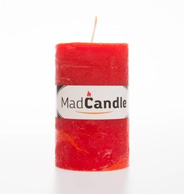 Scented candle oval medium orange
