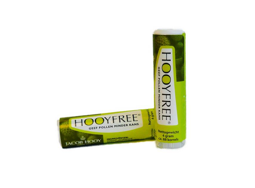 Jacob Hooy Hooyfree anti-stuifmeel korrels