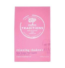 Treets Thé de bain relaxant aux chakras