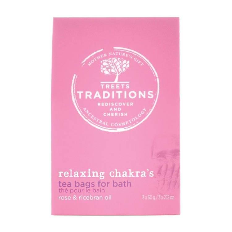 Treets Treets Relaxing Chakra's Bath Tea