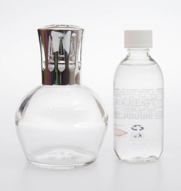 Crespi Milano Scentburnerset L06 transp. Refill  rose and fig (Crespi)