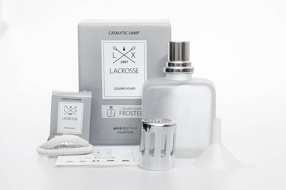 Lacrosse lampe de parfum Lacrosse Carré dépoli