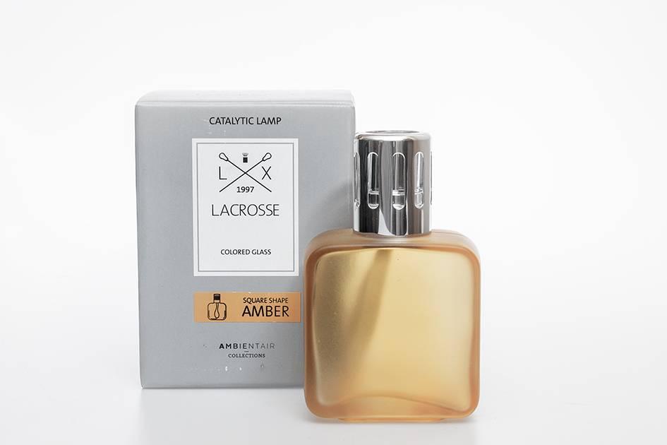 Lacrosse lampe de parfum Lacrosse Carré Ambre