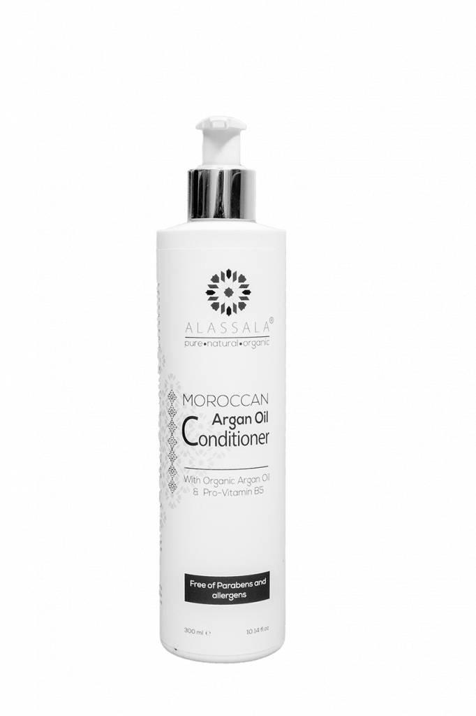 Alepeo Conditionneur d'huile d'argan marocain 300ml Alassala