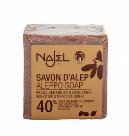 Alepeo Aleppo soap 40% block 200 gr. Najel