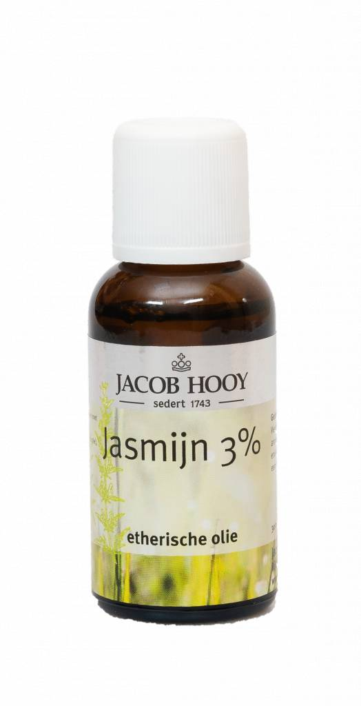 Jacob Hooy Etherische olie jasmijn 3%, 30 ml