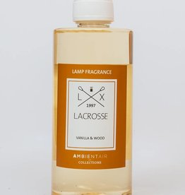 Lacrosse Refill for catalytic lamp 500ml VANILLA & WOOD