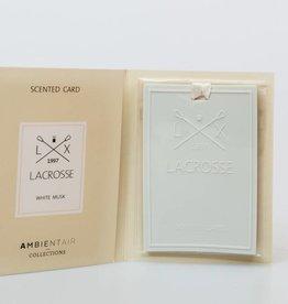 Lacrosse odor hanger WHITE MUSK Lacrosse