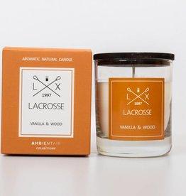 Lacrosse geurglas VANILLA & WOOD Lacrosse